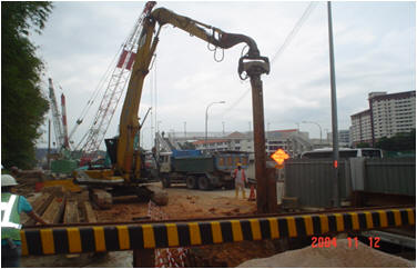 KGM Bros - Sheet Piling Projects
